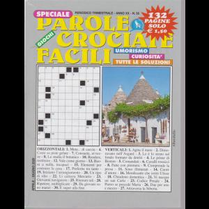 Speciale Parole Crociate facili - n. 55 - trimestrale - aprile - giugno 2020 - 132 pagine