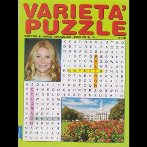 Varieta' Puzzle - n. 113 - bimestrale - aprile - maggio 2020 -