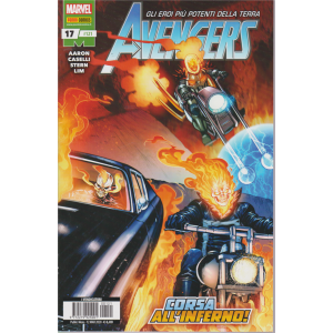 Avengers - n. 121 - mensile - 12 marzo 2020 - Corsa all'inferno!