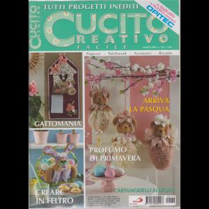 Cucito Creativo  facile - n. 138 - mensile - 12 marzo 2020 - + in allegato il nuovo catalogo Opitec