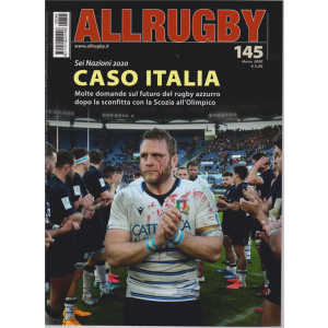 All Rugby - n. 145 - marzo 2020 - mensile