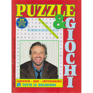 Puzzle  &  Giochi - n. 80 - bimestrale - aprile - maggio 2020 - 68 pagine