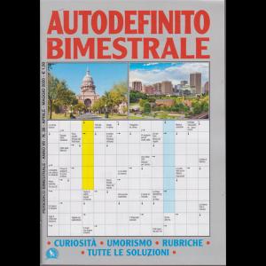 Autodefinito Bimestrale - n. 38 - aprile - maggio 2020 - bimestrale -