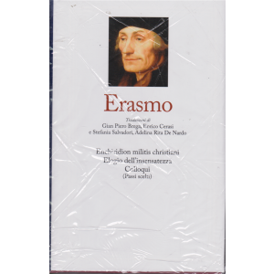 I grandi filosofi - Erasmo - n. 21 - settimanale - 13/3/2020 - copertina rigida