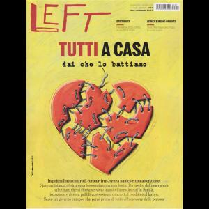 Left Avvenimenti - n. 11 - settimanale - 13 marzo 2020 - 19 marzo 2020