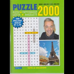 Puzzle 2000 - n. 348 - mensile - aprile 2020 - 100 pagine