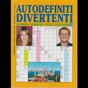 Autodefiniti  Divertenti - n. 78 - trimestrale - aprile - giugno 2020