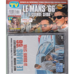 Sorrisi e Canzoni tv + dvd Le mans'66 - La grande sfida - rivista + dvd