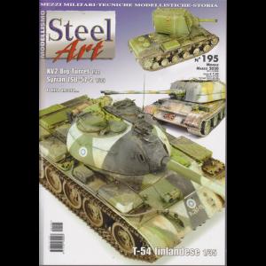 Steel Art - n. 195 - mensile - marzo 2020 -