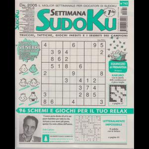 Settimana Sudoku - n. 762 - settimanale - 20 marzo 2020