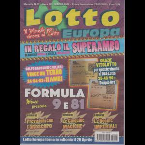 Lotto Europa - n. 3 - mensile - marzo 2020 -
