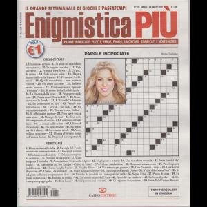 Enigmistica Piu' - n. 12 - 24 marzo 2020 - settimanale