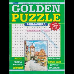 Golden Puzzle -Primavera -  n. 134 - trimestrale - aprile - giugno 2020 - 100 pagine