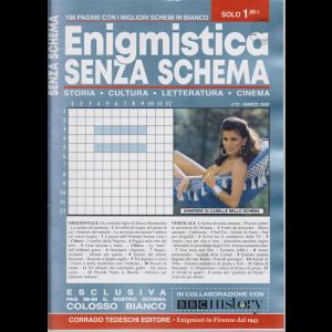 Enigmistica Senza Schema - n. 21 - marzo 2020 - mensile - 100 pagine con i migliori schemi in bianco