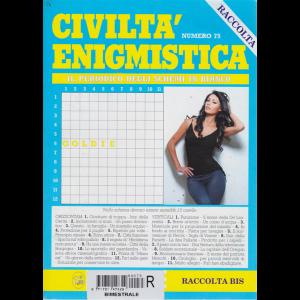 Raccolta ciciltà enigmistica - n. 75 - bimestrale - maggio 2017