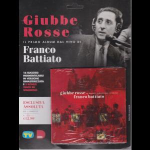 Cd Sorrisi speciale n. 5 - 17/3/2020 - settimanale - Giubbe rosse il primo album dal vivo di Franco Battiato - cd + libretto