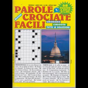 Parole crociate facili - n. 258 - mensile - aprile 2020 - 68 pagine