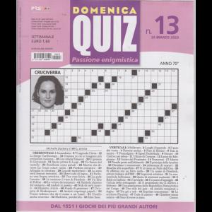 Domenica Quiz - n. 13 - 26 marzo 2020 - settimanale