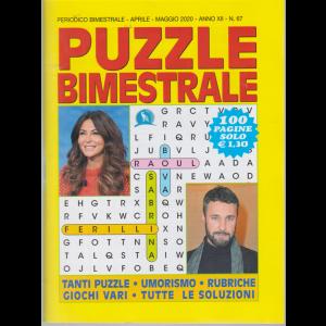 Puzzle  Bimestrale - n. 67 - bimestrale - aprile - maggio 2020 - 100 pagine
