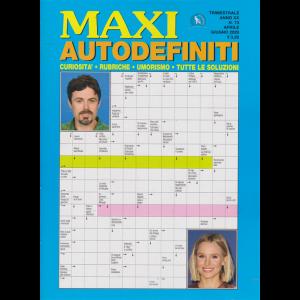 Maxi Autodefiniti - n. 73 - trimestrale - aprile - giugno 2020