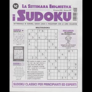 La settimana enigmistica - i sudoku - n. 87 - 19 marzo 2020 - settimanale
