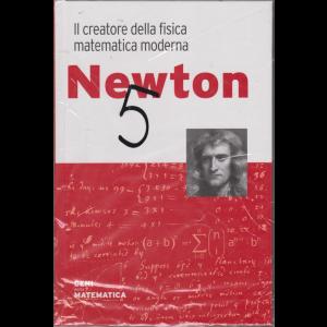 Geni della matematica - Newton - n. 8 - settimanale - 19/3/2020 - copertina rigida