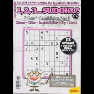 1,2,3 Sudoku - n. 175 - aprile 2020 - mensile