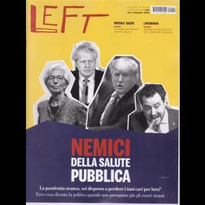 Left Avvenimenti - n. 12 - 20 marzo 2020 - 26 marzo 2020 - settimanale -