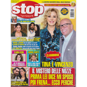 Stop - n. 4 - settimanale - 26 marzo 2019 -