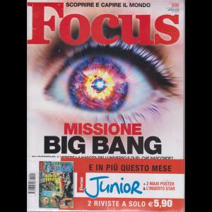 Focus + Focus Junior - n. 330 - aprile 2020 - mensile - 2 riviste