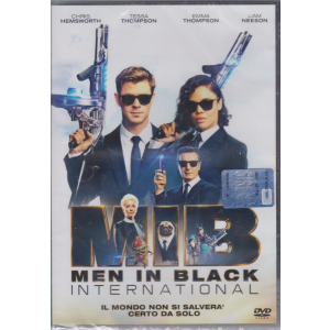 I Dvd Fiction Sorrisi .2 - MIB  Men In Black International - n. 15 - settimanale - aprile 2020