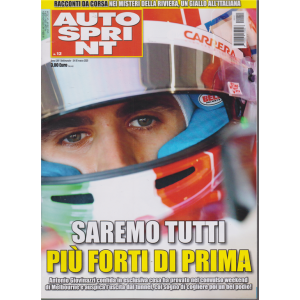 Autosprint - n. 12 - 24-30 marzo 2020 - settimanale