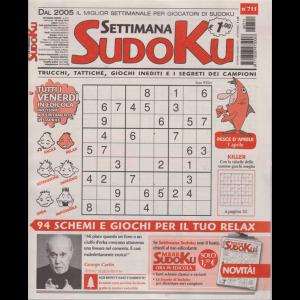 Settimana Sudoku - n. 711 - settimanale - 29 marzo 2019