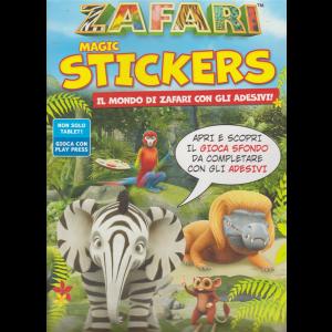 Zafari Magic Stickers - n. 2 - aprile - maggio 2020 - bimestrale