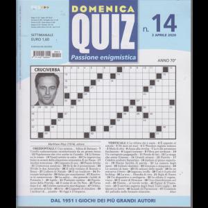 Domenica Quiz - n. 14 - 2 aprile 2020 - settimanale