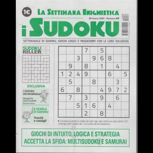 La settimana enigmistica - i sudoku - n. 88 - 26 marzo 2020 - settimanale