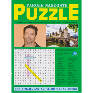 Parole Nascoste Puzzle - n. 69 - trimestrale - aprile -  giugno 2020