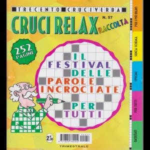 Raccolta Cruci relax - n. 57 - trimestrale - aprile - giugno 2020 - 252 pagine - 300 cruciverba