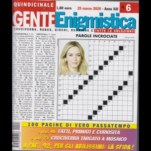 Gente Enigmistica - n. 6 - 25 marzo 2020 - quindicinale - 100 pagine di vero passatempo