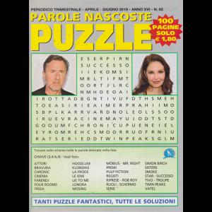 Parole Nascoste Puzzle - n. 65 - trimestrale - aprile - giugno 2019 - 100 pagine