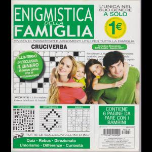 Enigmistica della Famiglia -n. 14 - bimestrale - luglio - agosto 2017 -