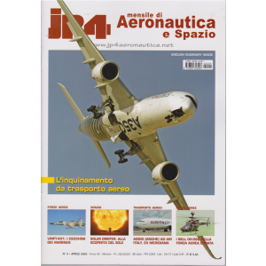 Jp4 - Mensile di Aeronautica e Spazio - n. 4 - aprile 2020 -