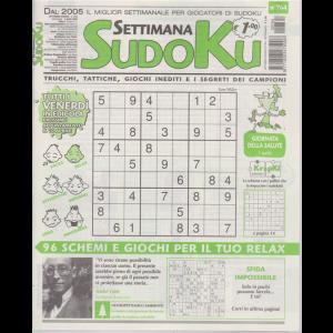 Settimana Sudoku - n. 764 - settimanale - 3 aprile 2020