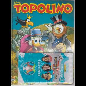 Topolino - + 8 cards inside di Adrenalyn ! - n. 3358 - settimanale - 1° aprile 2020