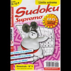 Sudoku Supremo - Liv.14-15 - Limite estremo - bimestrale-  n. 9 - 23/3/2020 -