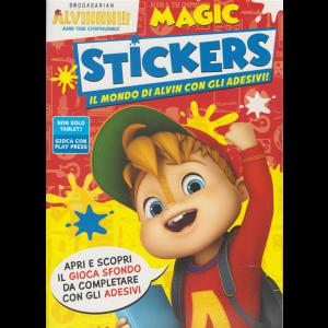 Alvin Magic Stickers - n. 5 - aprile - maggio 2020 - bimestrale-