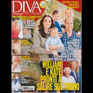 Diva e Donna  - n. 14 - 7 aprile 2020 - settimanale femminile