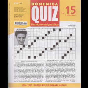 Domenica Quiz - n. 15 - 9 aprile 2020 - settimanale