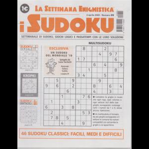 La settimana enigmistica - i sudoku - n. 89 - 2 aprile 2020 - settimanale