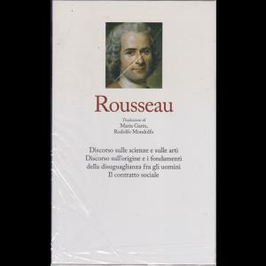 I grandi filosofi - Rousseau - n. 23 - settimanale - 27/3/2020 - copertina rigida